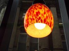 kolorowa lampa wisząca