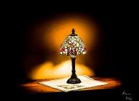 Lampka w stylu Tiffany